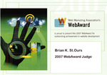 2008 WebAwards Judge